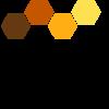 La Ruche logo+slogan 2018 + communes
