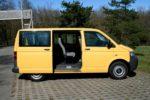 VW T5 JAUNE 8 PLACES GE 716613 AST/ge