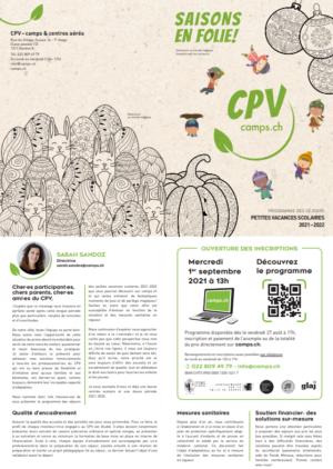 Capture d'écran CPV