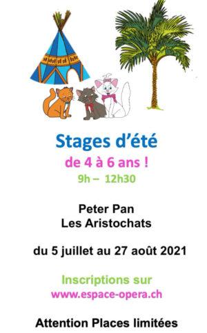 Espace Opéra_Stage été 2021_4-6 ans