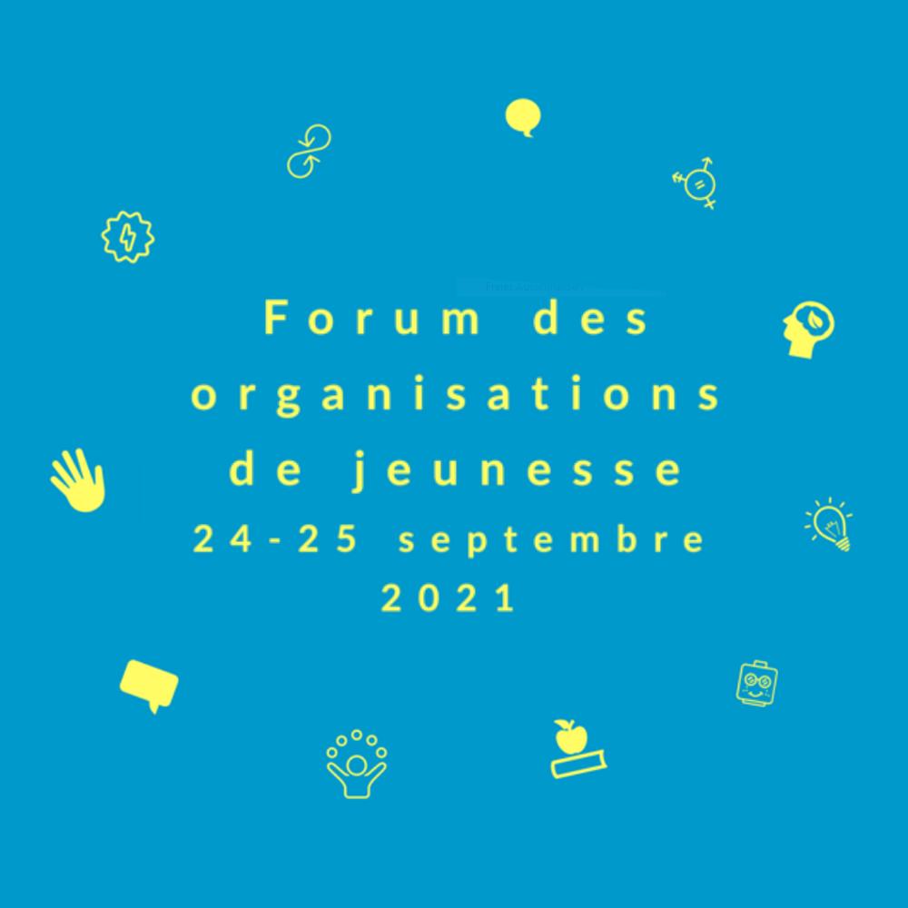 Forum des organisations de jeunesse_CSAJ_2021