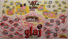 Fresque 40 ans du GLAJ-GE par Filippo Buzzini