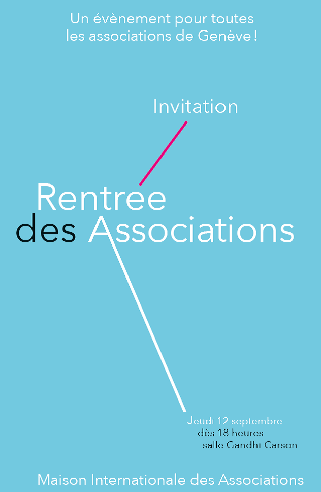 Flyer A5 Rentrée des Associations